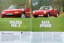 Comparo rétro: Alfa Romeo Spider vs. Mazda MX-5 (1990)