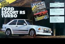 Que pensait Le Moniteur Automobile de la Ford Escort RS Turbo en 1985 ?