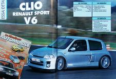 Que pensait Le Moniteur Automobile de la Renault Clio V6 en 2000?