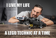 Lego Technic Fast & Furious Charger is net te laat voor quarantaine