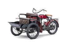 Wist je nog? Dat Skoda in 1905 gemotoriseerde driewielers maakte