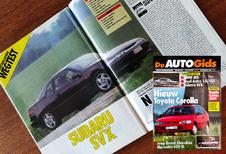 Wat vond (De) AutoGids in 1992 van de Subaru SVX?