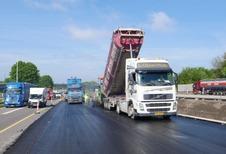 Les chantiers ont repris sur les routes wallonnes