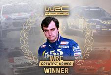 Carlos Sainz verkozen tot beste rallyrijder ooit