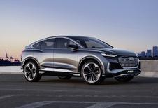 Audi Q4 Sportback e-tron concept: afspraak in 2021