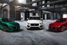 3 nieuwe Maserati's, elk met een V8