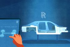 4 roues motrices et directrices pour la Rolls-Royce Ghost