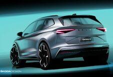 La Škoda Enyaq iV se dévoile de plus en plus