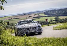 Eerste blik op de nieuwe Mercedes-AMG SL