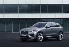 Jaguar F-Pace: facelift en plug-in hybride