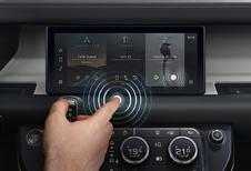 Jaguar Land Rover heeft oplossing voor vieze aanraakschermen