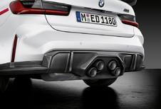 BMW M3/M4 Performance Parts leidt af van de neus