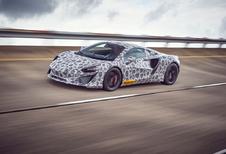 McLaren : derniers tests pour la supercar hybride