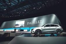 Mollo sur l'électrique pour le Comité d'entreprise de Daimler