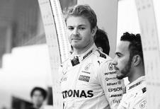 Nico Rosberg opnieuw in de clinch met Lewis Hamilton