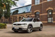 Euro NCAP crasht de elektrische Mazda MX-30