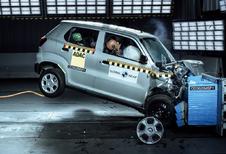 Cette Suzuki obtient 0 étoile aux crash-tests du NCAP