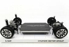 E-GMP : la plateforme électrique 400-800 V de Hyundai