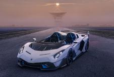 Lamborghini SC20 is extreme circuitauto zonder dak