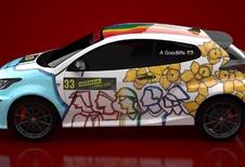 Toyota remercie ses ouvriers avec une Yaris Art Car