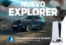 Ford geeft gratis PS5 bij nieuwe Explorer