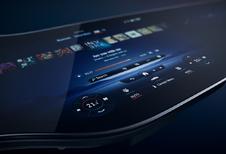 Mercedes EQS toont zijn MBUX Hyperscreen