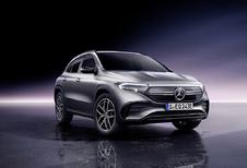 Mercedes GLA wordt elektrische EQA - UPDATE