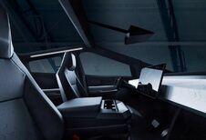 Tesla Cybertruck: de cockpit in beeld