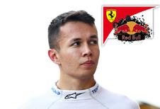 Alex Albon verenigt Red Bull met Ferrari