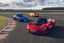Lotus lance les Final Edition de l'Elise et de l'Exige