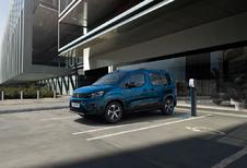 Peugeot e-Rifter: zoals voorspeld