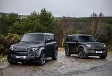 Land Rover offre un V8 au Defender