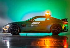Dit de nieuwe Aston Martin Vantage F1 Safety Car!