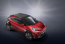 Toyota Aygo wordt SUV voor de stad - update: spyshot