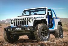 Jeep Magneto Concept: elektrische Wrangler met 6-bak