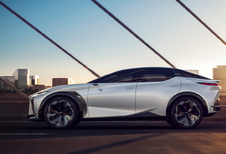 Lexus LF-Z Electrified: werkelijkheid in 2025