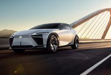 Lexus LF-Z Electrified is elektrische cross-over voor 2025