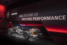 Mercedes onthult elektrische en hybride AMG-technologie