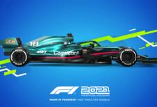 F1 2021 game komt uit op 16 juli