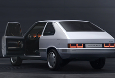 Hyundai Pony EV: originele restomod