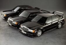 Vintage - 1984 Mercedes 190 2.3-16, l'or pour une flèche d'argent