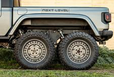 Jeep Gladiator gaat Next Level als zeswieler