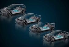 Italdesign et Williams proposent une plateforme électrique hautes performances