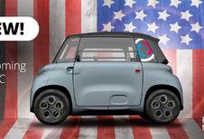 Citroën Ami gaat naar Amerika als deelauto