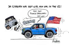 Audran's story - Citroën Ami zet wiel aan wal in de VS