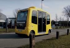 Accident pour la navette autonome de Louvain-La-Neuve