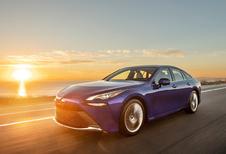 Toyota Mirai plus de 1000 km avec un plein d'hydrogène