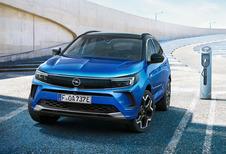 Facelift Opel Grandland krijgt verduisterde Vizor-voorzijde