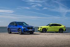 BMW X3M & X4M facelift pour les versions de pointe