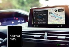 Coyote arrive sur Android Auto